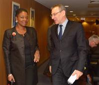 Visit of Valerie Amos, UN Under-Secretary General for Humanitarian Affairs and Emergency Relief Coordinator, to the EC