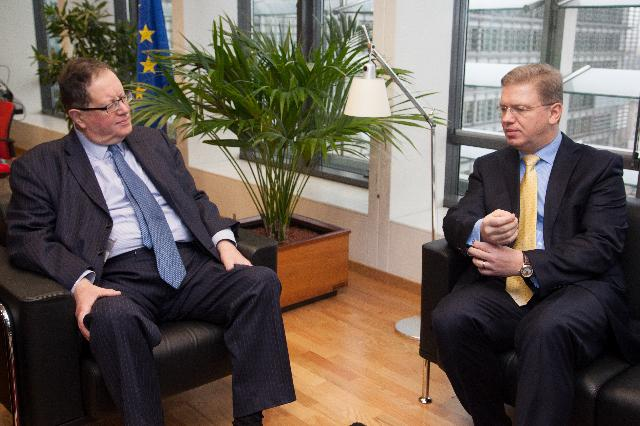 Visit of Timothy Boswell, Chairman of the European Union Committee of the British House of Lords, to the EC