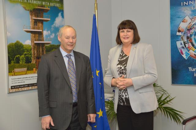 Visit of Peter FitzGerald, Founder and Managing Director of Randox Laboratories, to the EC