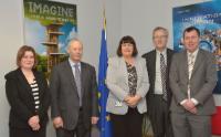 Visite de Peter FitzGerald, fondateur et directeur général des Laboratoires Randox, à la CE