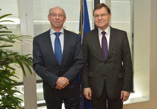 Visit of Algimantas Rimkûnas, Lithuanian Deputy Minister for Finance, to the EC