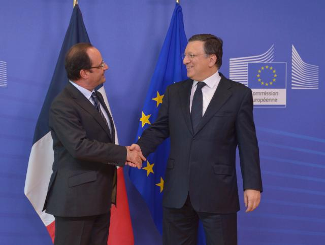 Visit of François Hollande, President of the French Republic, to the EC