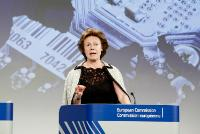 Press conference by Neelie Kroes, Vice-President of the EC, on the new European industrial strategy for electronics