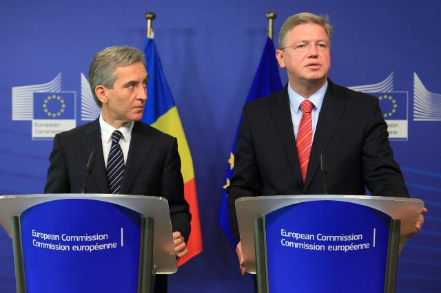 Visit of Iurie Leancă, Moldovan Prime Minister, to the EC