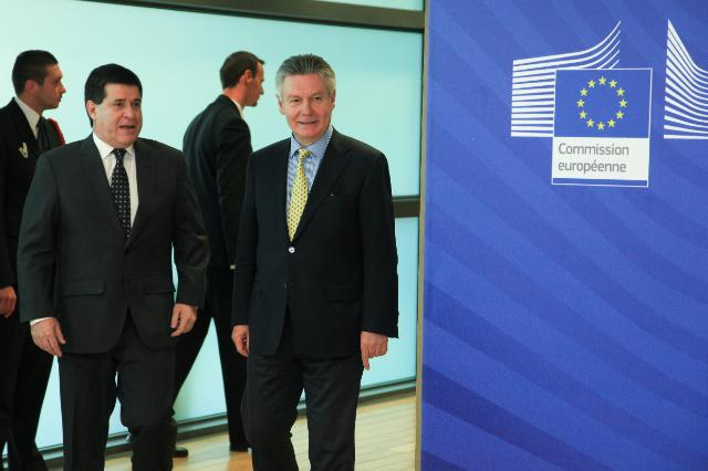 Visit of Horacio Cartes, President-elect of Paraguay, to the EC
