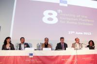 Participation de Viviane Reding, vice-présidente de la CE, et László Andor, membre de la CE, à la réunion de la Plateforme pour les Roms