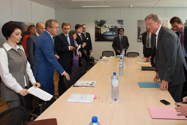 Visit of Andriy Klyuyev, Secretary of the National Security and Defence Council of Ukraine, to the EC