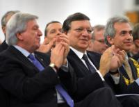 Visit of José Manuel Barroso, President of the EC, to Frankfurt-on-Main