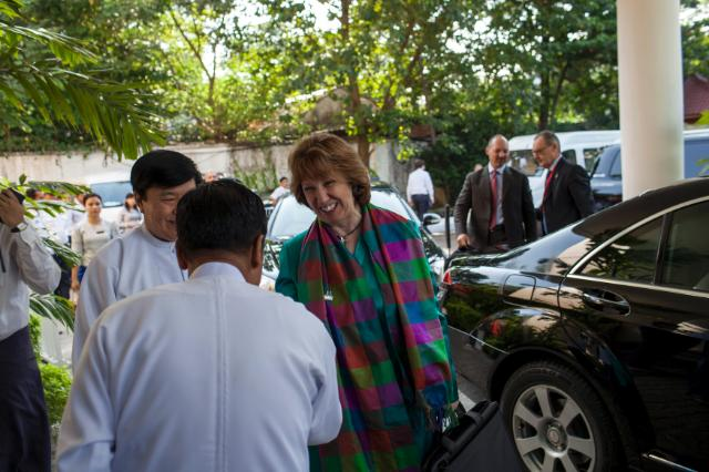 Participation of Catherine Ashton, Antonio Tajani, Vice-Presidents of the EC, and Andris Piebalgs, Member of the EC, in the 1st EU-Myanmar Task Force
