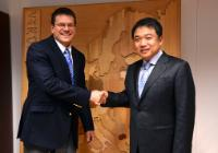 Visit of Jin-Haeng Chung, President of Hyundai Motor Company, to the EC