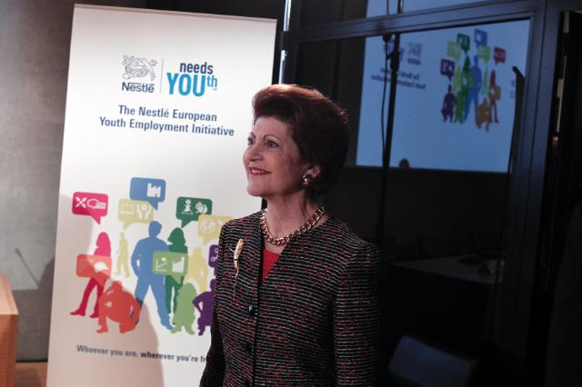 Participation of Androulla Vassiliou, Member of the EC, at the launch of the new initiative entitled Nestlé needs YOUth, in Athens