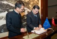 Visite de José Manuel Barroso, président de la CE, à Hong Kong et Macao