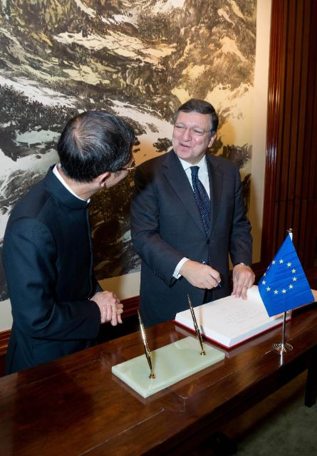 Visit of José Manuel Barroso, President of the EC, to Hong Kong and  Macau