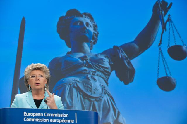 Press conference by Viviane Reding, Vice-President of the EC, on fair trial rights of citizens in criminal proceedings throughout the EU