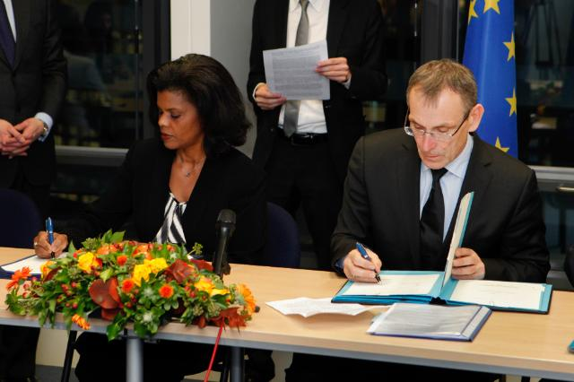 Signature ceremony of the joint financing conventions between the EU and the NAOs of the Portuguese Speaking African Countries and Timor Leste