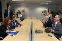 Visite d'Anthony Lake, directeur général de l'Unicef, à la CE