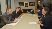 Visit of Aleqa Hammond, Greenlandic Prime Minister, to the EC