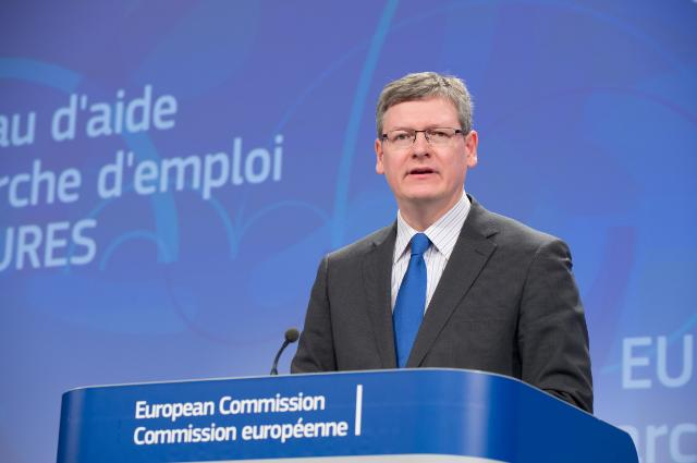 Press conference by László Andor, Member of the EC, on the proposed new rules to strengthen the pan-European job search network EURES