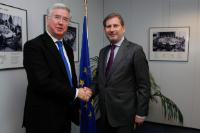 Visit of Michael Fallon, British Minister of State for Energy, to the EC