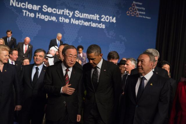 Nuclear Security Summit, 24-25/03/2014