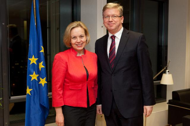 Visit of Alena Kupchyna, Belarusian Deputy Minister for Foreign Affairs, to the EC