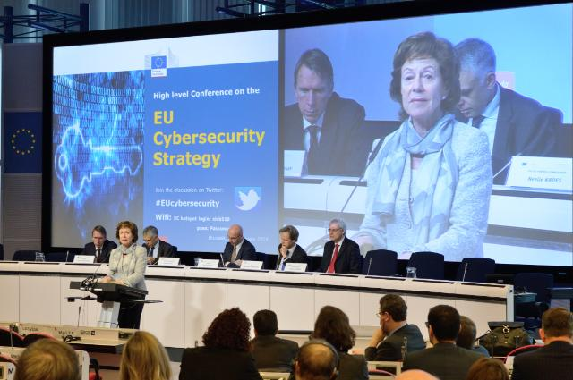 Participation of Neelie Kroes, Vice-President of the EC, in the high level conference on the EU Cybersecurity Strategy