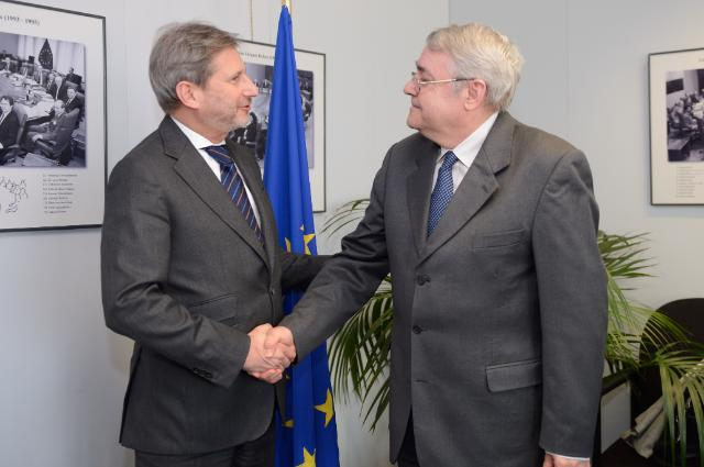 Visit of László Baranyay, Vice-President of the EIB, responsible for Evaluation and Information Technologies, to the EC