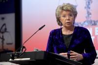 Participation de Viviane Reding, vice- présidente de la CE, et Tonio Borg, membre de la CE, à la conférence 'La Santé en Europe: la rendre plus équitable'
