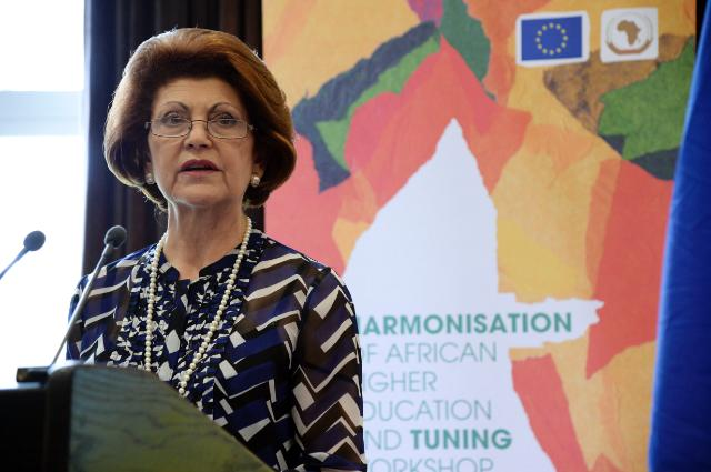 Androulla Vassiliou delivers keynote speech at the workshop on African Higher Education Harmonisation and Tuning