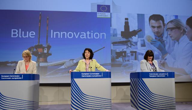 Joint press conference by Máire Geoghegan-Quinn and Maria Damanaki, Members of the EC, on the innovation action plan for the 'Blue Economy'