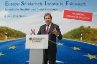 Participation of Johannes Hahn, Member of the EC, at the conference on the 'Partnership Agreement' with Germany on using EU Structural and Investment Funds
