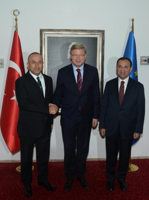 Visit by Štefan Füle, Member of the EC, to Turkey