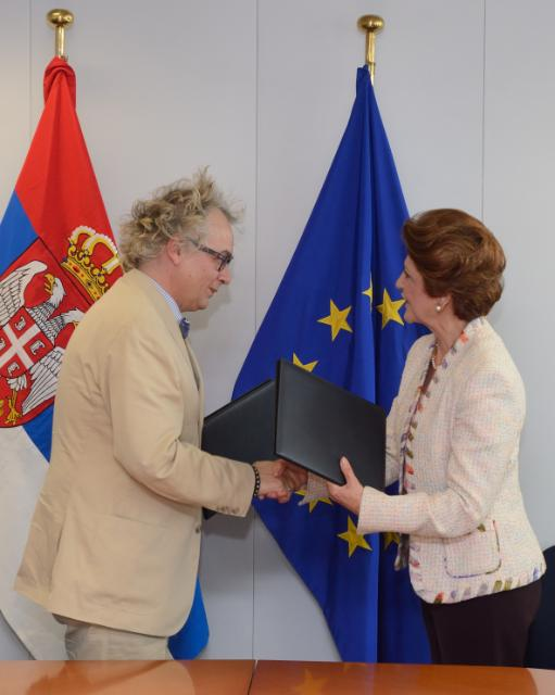Signing of a cultural cooperation agreement by Serbia, in the framework of the Europe Creative programme