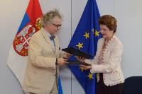 Signing of a cultural cooperation agreement by Serbia, in the framework of the