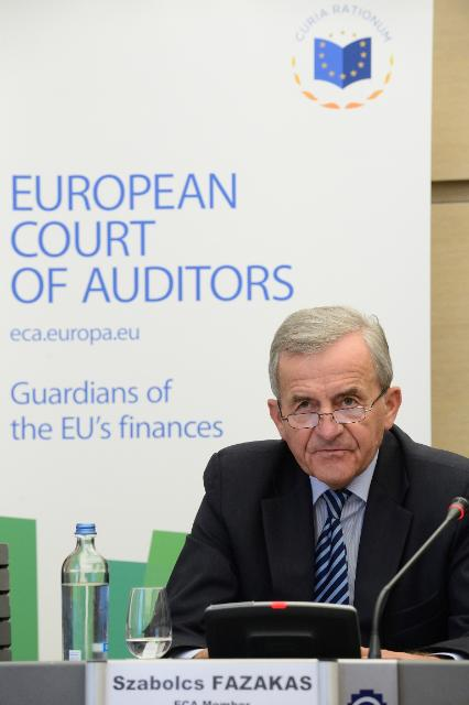 Press conference by Szabolcs Fazakas, Member of the European Court of Auditors, on the establishment of the European External Action Service