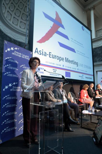 Participation of Androulla Vassiliou, Member of the EC, at the conference 'Global Europe' entitled 'Asia Europe Meeting: A partnership for the 21st Century'