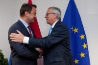 Meeting between Xavier Bettel, Luxembourgish Prime Minister, and Jean-Claude Juncker, President-elect of the EC