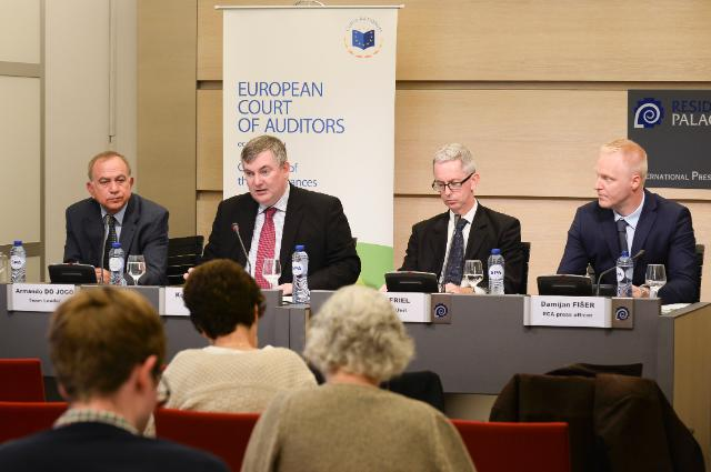 Press conference by Kevin Cardiff, Member of the European Court of Auditors, on the effectiveness of European Fisheries Fund support for aquaculture
