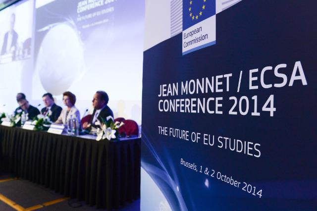 Participation of José Manuel Barroso, President of the EC, and Androulla Vassiliou, Member of the EC, in the Jean Monnet Conference/ECSA World Conference 2014
