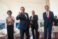 """Illustration of """"Visite de José Manuel Barroso, président de la CE, au Portugal"""""""