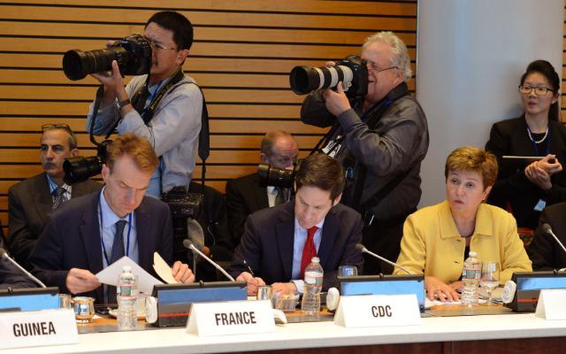 Visit of Kristalina Georgieva, Member of the EC, to the United States