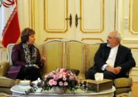 "Illustration of ""Participation of Catherine Ashton, Coordinator and negotiator for the E3+3 group in the Iran nuclear..."