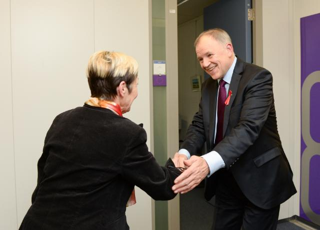 Visit of Milojka Kolar Celarc, Slovenian Minister for Health, to the EC