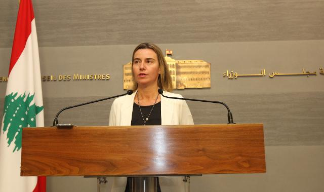 Visit of Federica Mogherini, Vice-President of the EC, to Lebanon