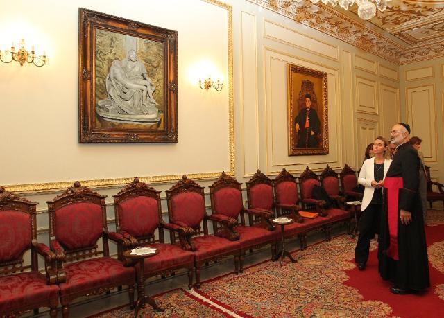 Visite de Federica Mogherini, vice-présidente de la CE, au Liban