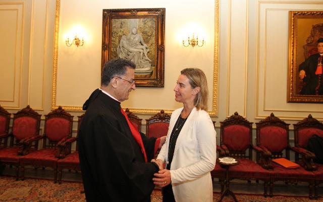 Visit of Federica Mogherini, Vice-President of the EC, to Lebanon
