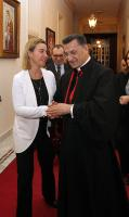 "Illustration of ""Visit of Federica Mogherini, Vice-President of the EC, to Lebanon"""
