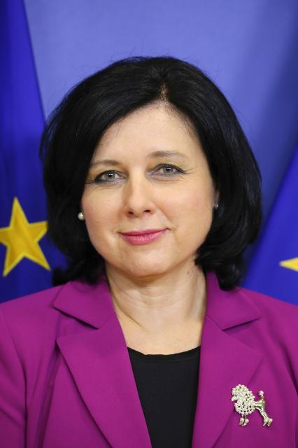Vĕra Jourová, Member of the EC