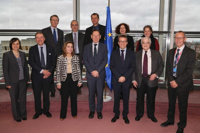 Visit of the members of the Research, Innovation, and Science Policy Expert High Level Group to the EC