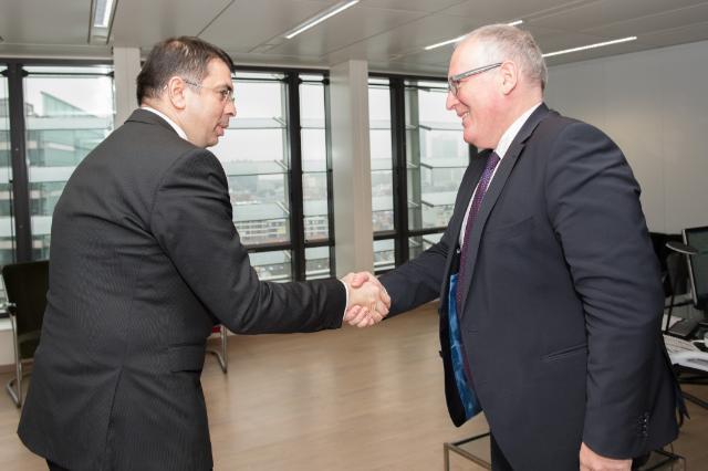 Visite de Robert-Marius Cazanciuc, ministre roumain de la Justice, à la CE